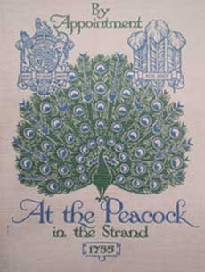 The Sign of the Peacock