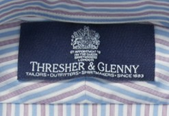 Blue Stitch Label