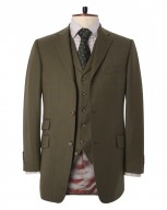 "The Thresher ""Antler"" Three-Button Country Suit"