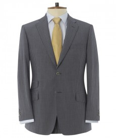 "The Thresher ""Jakarta"" 20% Mohair Half-Lined Travel Suit"