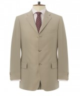 "The Glenny ""Darjeeling"" Three-Button Half-Lined Travel Suit"