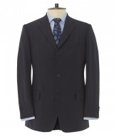 "The Glenny ""Caucasus"" Three-Button Half-Lined Travel Suit"