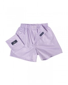 "The ""Leon Sphinx"" Boxer in 100% Egyptian Cotton, Lilac Twill Weave"