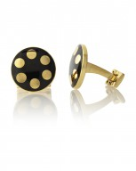 Balls Black/Gold-Gold Plated