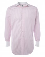 "The Glenny ""Just So"" Italian Cotton Contrast Shirt"