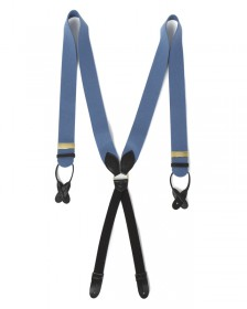 The Boxcloth Brace in Bullingdon Blue Wool
