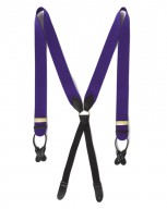 The Boxcloth Brace in Palatine Purple Box Cloth