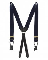 The Boxcloth Brace in Serious Navy Wool