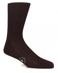 "The ""Victory"" 100% Cotton Full-Calf Sock in Burnt Madeira"